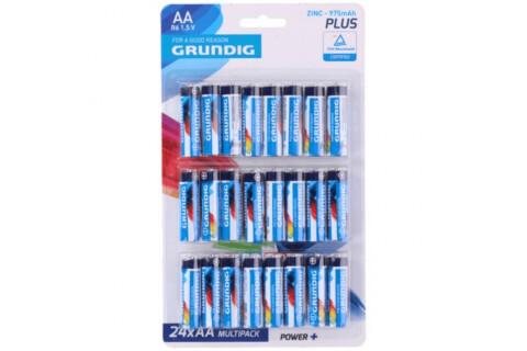 24 GRUNDIG Batterien AA 1,5V R06