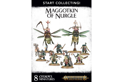 Warhammer Start Collecting! Maggotkin of Nurgle 83-54