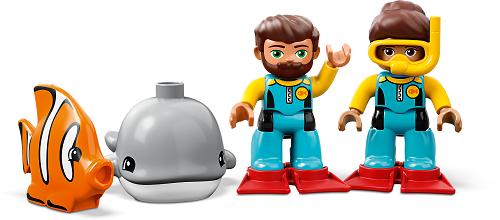 LEGO® DUPLO® Town 10910 U-Boot-Abenteuer Minifigs