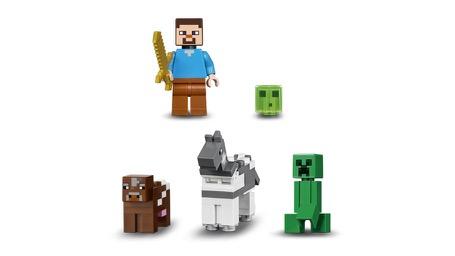 LEGO® Minecraft™ 21135 Die Crafting-Box 2.0 Minifigs