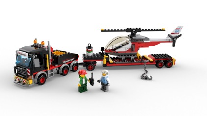 LEGO® City 60183 Schwerlasttransporter 360° Bilder