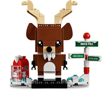 LEGO® BrickHeadz 40353 Rentier und Elfen Minifigs