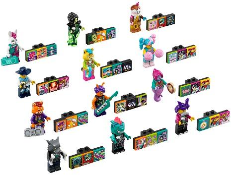 LEGO® VIDIYO™ 43101 Bandmates Minifigs