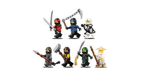 LEGO® NINJAGO™ Movie 70618 Ninja-Flugsegler Minifigs