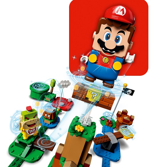 LEGO® Super Mario 71360 Abenteuer mit Mario - Starterset Minifigs