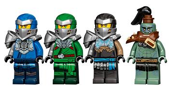 LEGO® NINJAGO® 71717 Reise zu den Totenkopfverliesen Minifigs