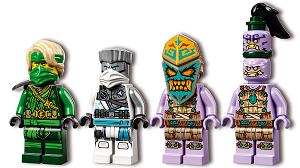 LEGO® NINJAGO® 71746 Dschungeldrache Minifigs