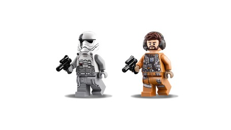 LEGO® Star Wars™ 75195 Ski Speeder™ vs. First Order Walker™ Microfighters Minifigs