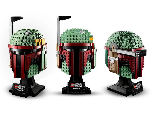 LEGO® Star Wars™ 75277 Boba Fett™ Helm Minifigs
