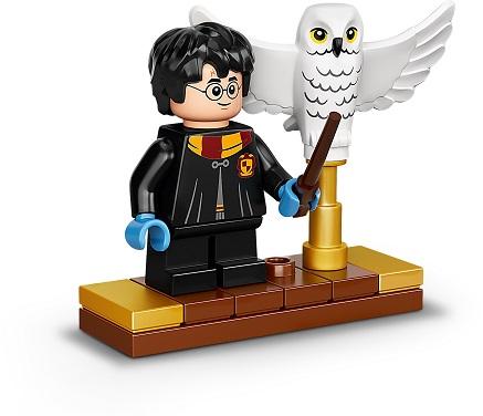 LEGO® 75979 Harry Potter Hedwig mit beweglichen Flügeln, Schaustück für Sammler, Bauset Minifigs