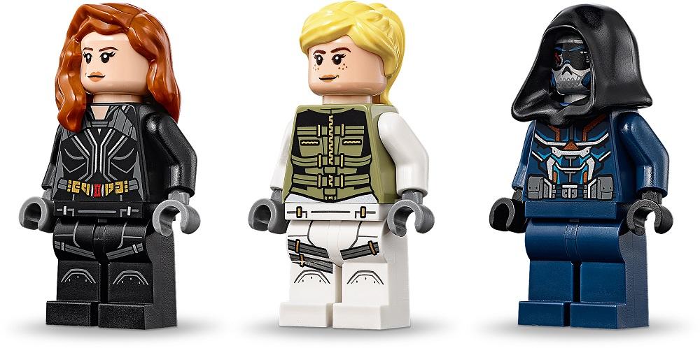 LEGO® Marvel Super Heroes 76162 Black Widows Hubschrauber-Verfolgungsjagd Minifigs