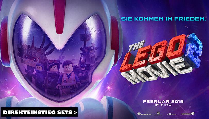 THE LEGO® MOVIE 2™ Sets sind bei Steinchenwelt eingetroffen