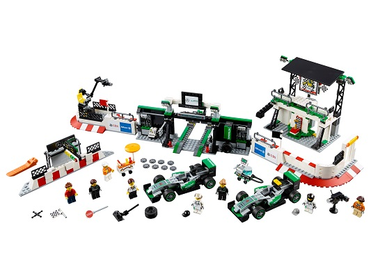 LEGO Speed Champions Mercedes AMG Petronas
