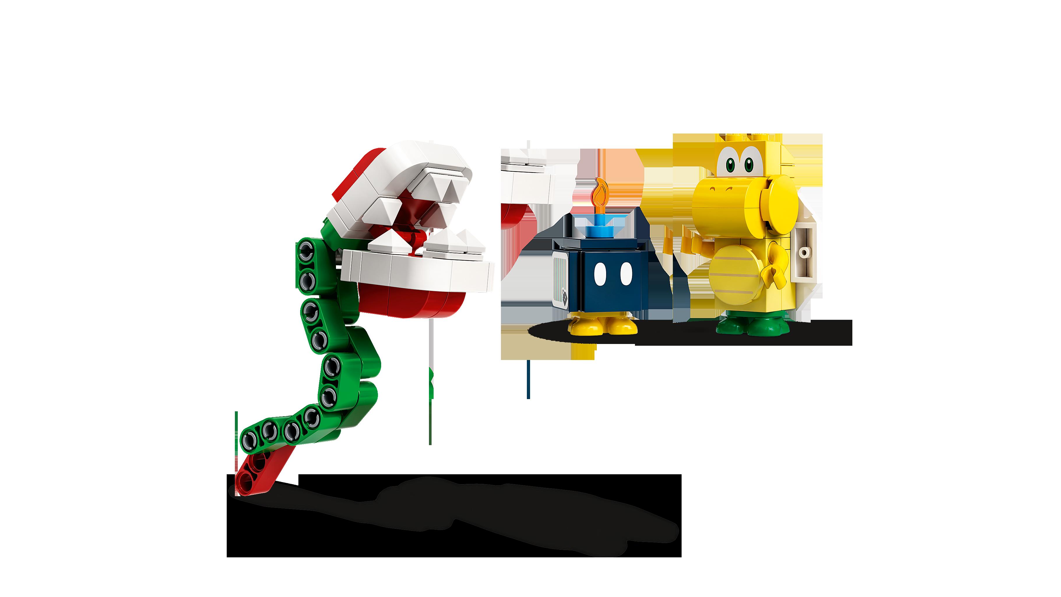 LEGO® Super Mario 71362 Bewachte Festung - Erweiterungsset Minifigs