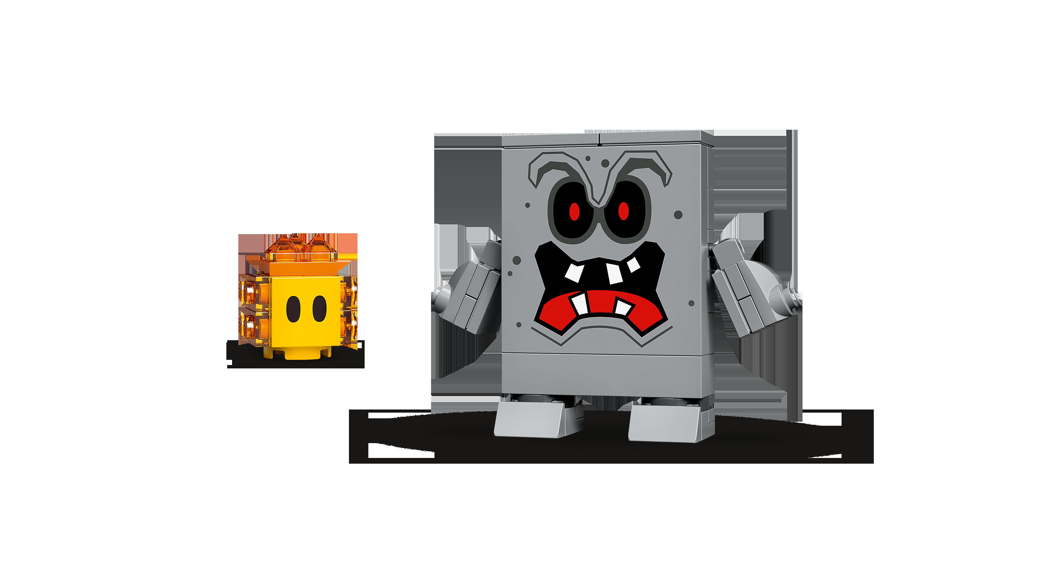 LEGO® Super Mario 71364 Wummps Lava-Ärger - Erweiterungsset Minifigs