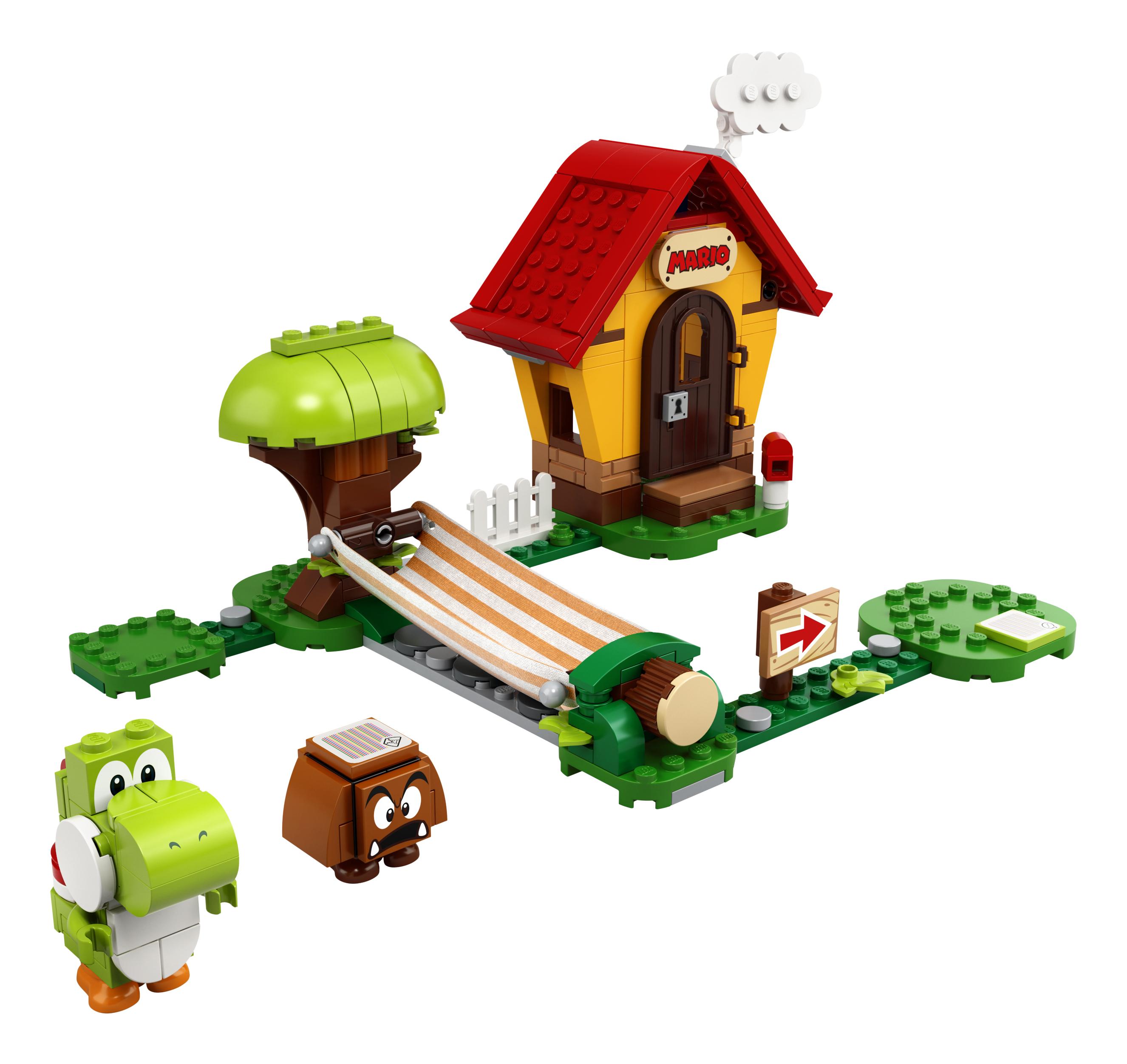 LEGO® Super Mario 71367 Marios Haus und Yoshi - Erweiterungsset Minifigs