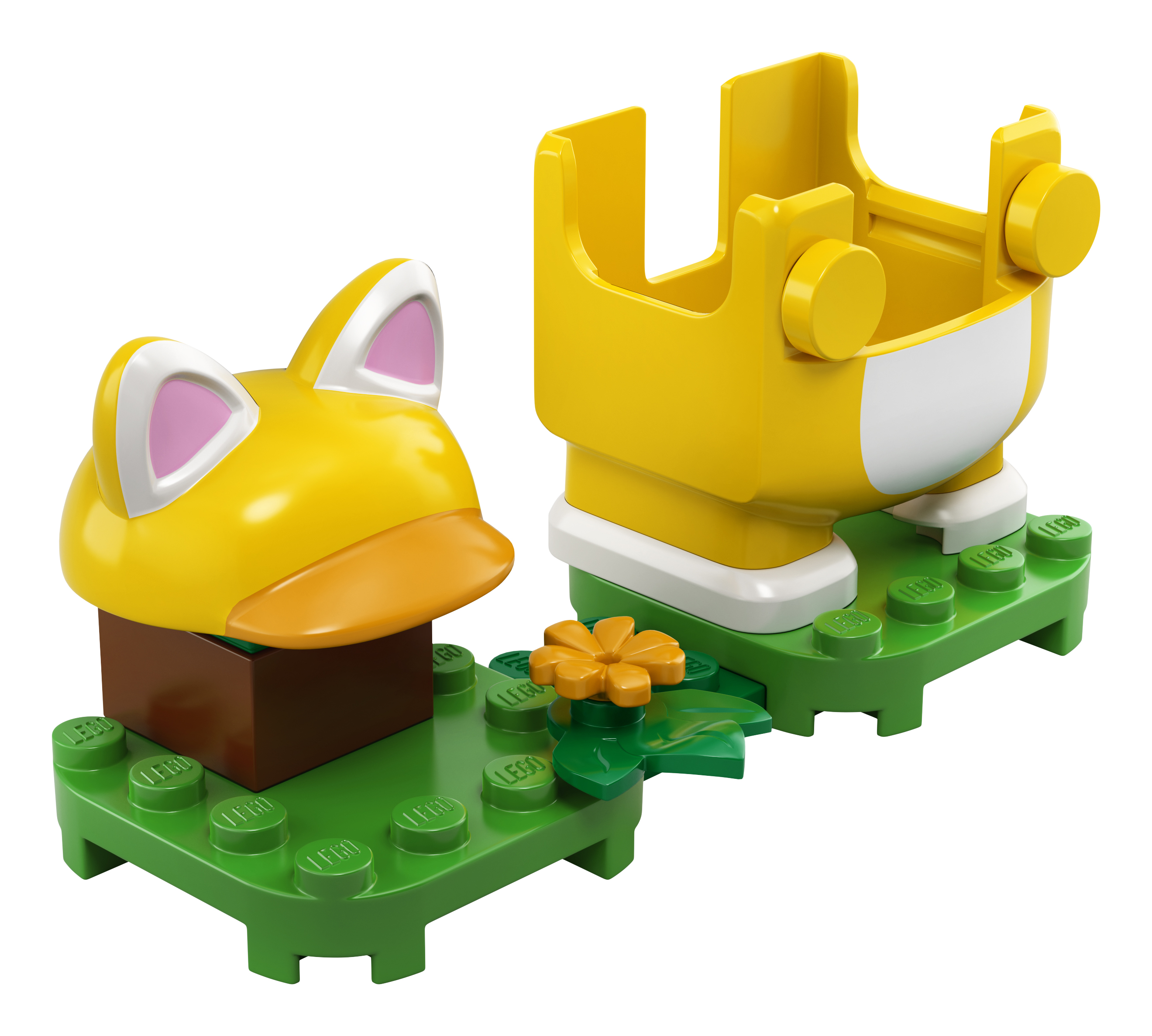 LEGO® Super Mario 71372 Katzen-Mario - Anzug Minifigs