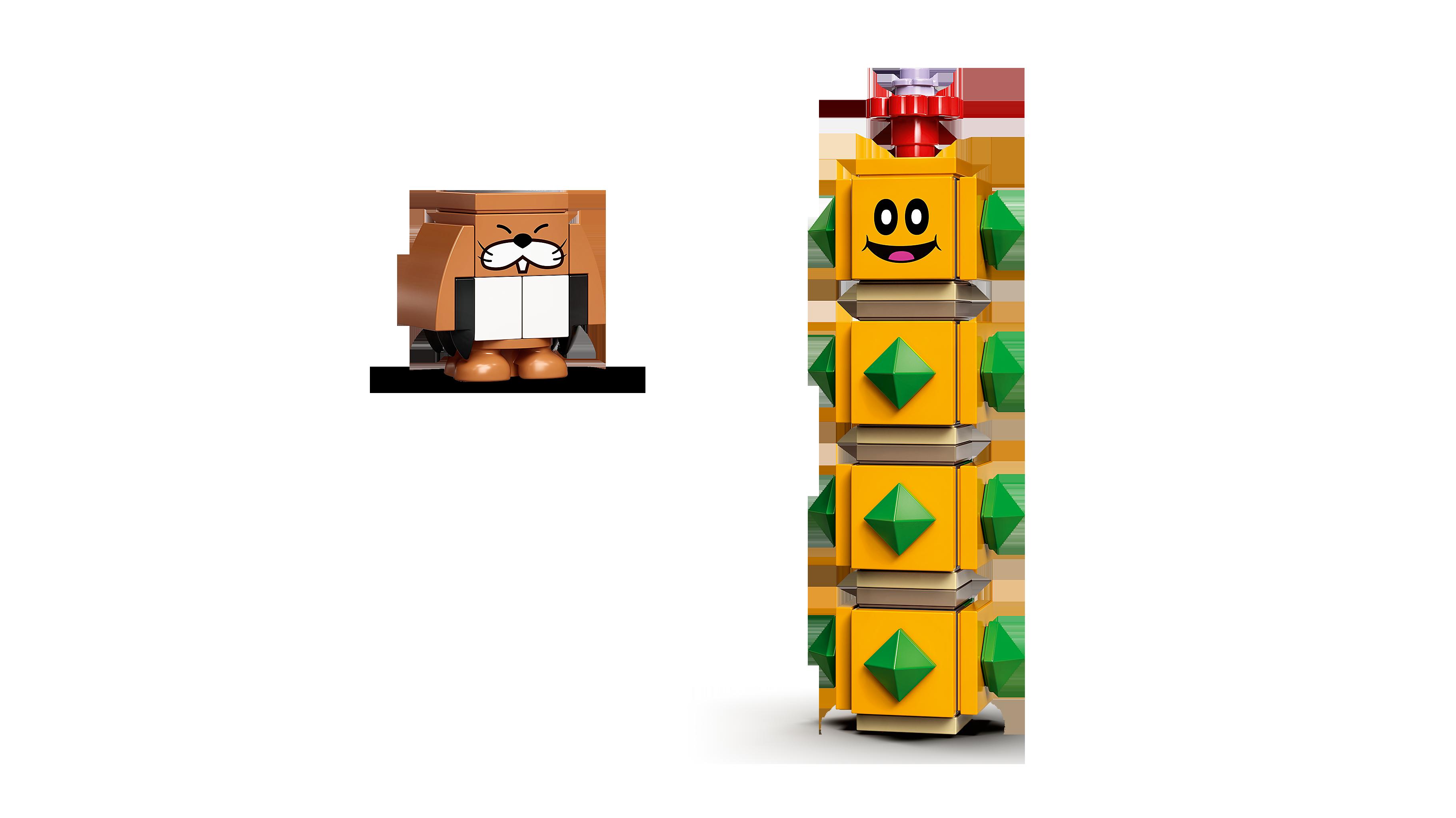 LEGO® Super Mario 71373 Baumeister-Mario - Anzug Minifigs