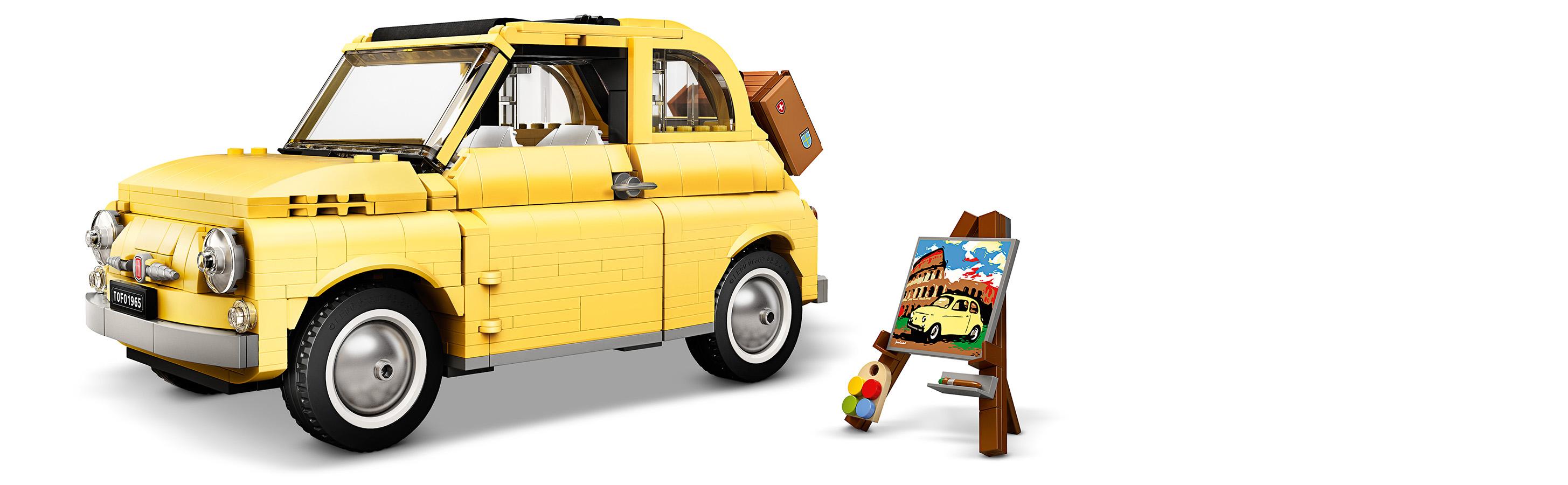 LEGO® Creator Expert 10271 Fiat 500 Minifigs