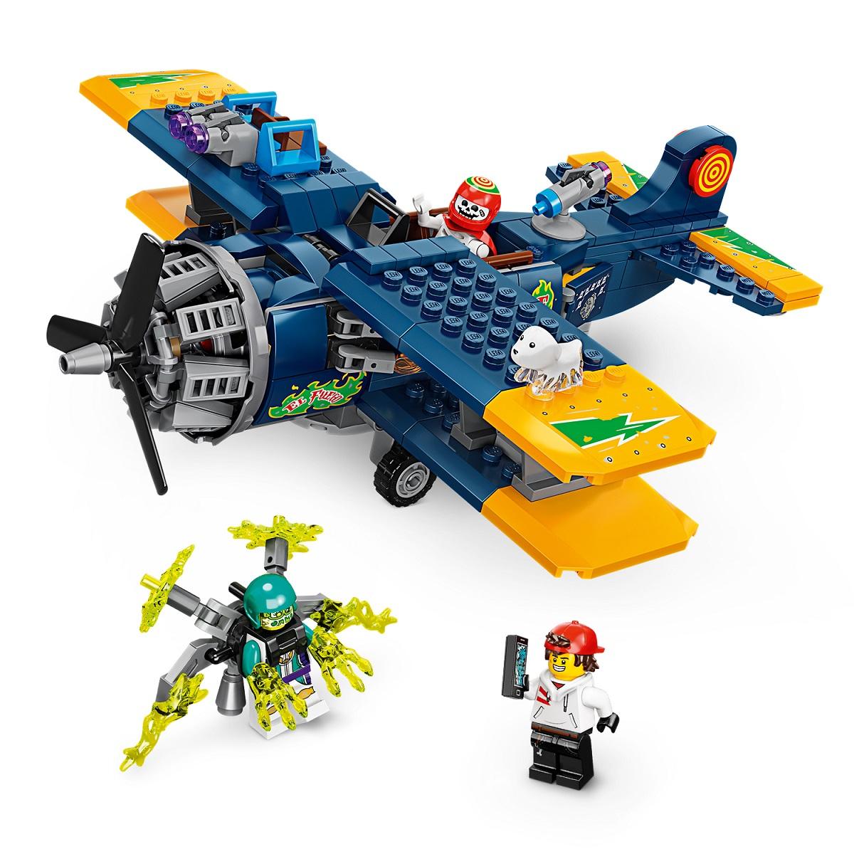 LEGO® Hidden Side™ 70429 El Fuegos Stunt-Flugzeug Minifigs