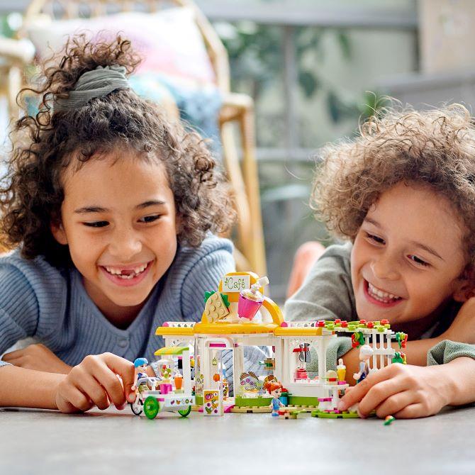 LEGO® Friends 41444 Heartlake City Bio-Café Minifigs
